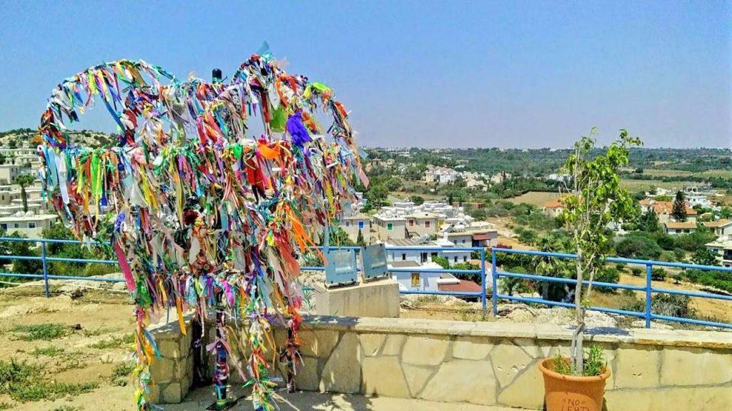 Металлическое дерево желаний, Церковь Пророка Ильи, Протарас, Кипр