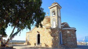 Колокольня церкви, Церковь Пророка Ильи, Протарас, Кипр