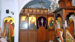 Расписной деревянный алтарь, Церковь Пророка Ильи, Протарас, Кипр