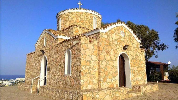 Конусный купол церкви, Церковь Пророка Ильи, Протарас, Кипр