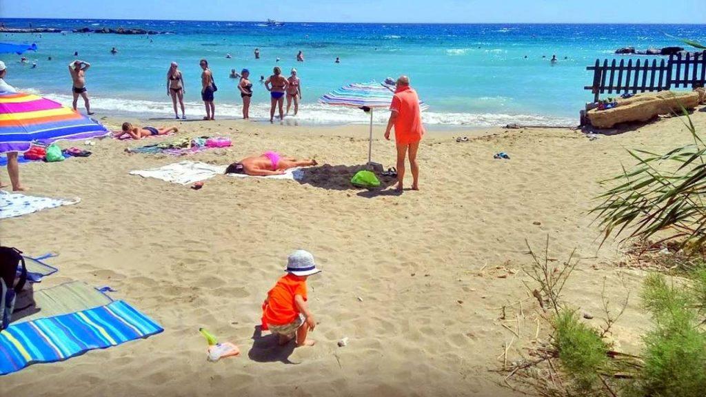 Золотистый песок , Пляж Ломбарди, Протарас, Кипр