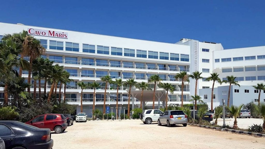 Отель Cavo Maris Beach , Пляж Ломбарди, Протарас, Кипр